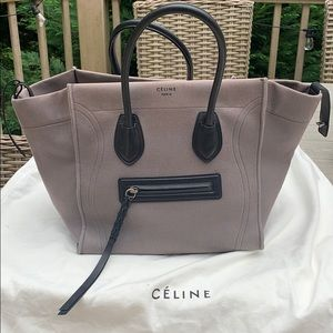 Celine canvas and leather phantom
